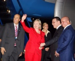 Clinton arrives in Honduras in early June, 2009