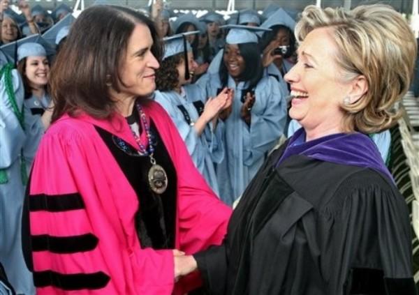 Barnard Commencement Clinton