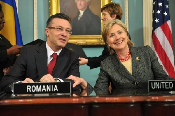 US-ROMANIA-CLINTON-DIACONESCU