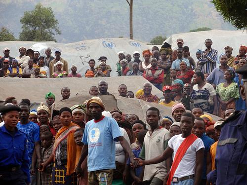 Mugunga IDP, Goma, DRC Aug. 11th, 2009