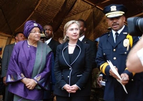 Liberia Clinton Africa