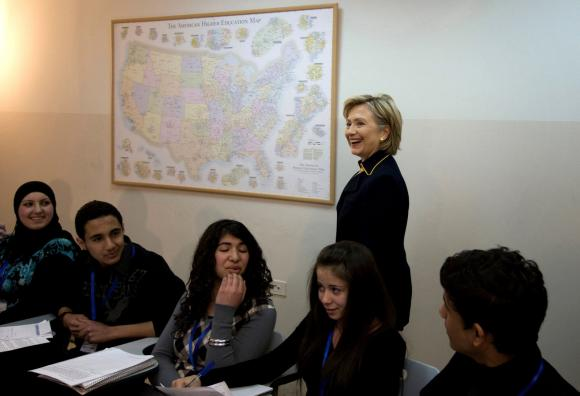 Secretary-of-State-Clinton-in-the-West-Bank