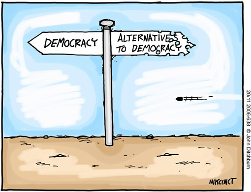 democracy Democracy: A Universal Right