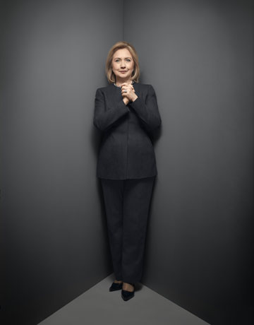 Hillary's Body Double…It's All In The Nose!They Are ... |Hillary Clintons Body